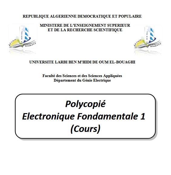Cours Électronique Fondamentale