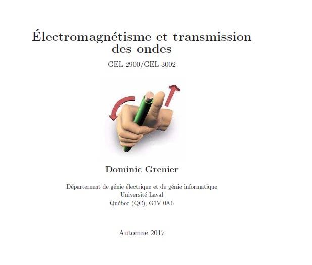 Cours électromagnétisme et transmission des ondes