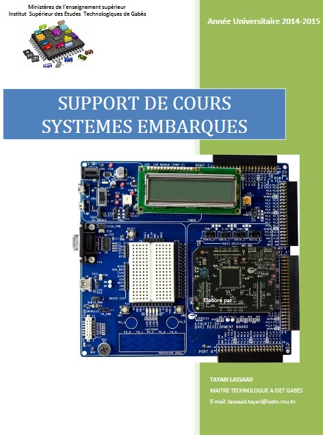Support de cours, les systèmes embarqués